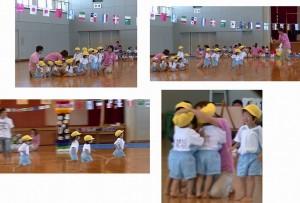②2歳児競技
