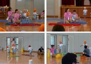 ⑩4・5歳児競技
